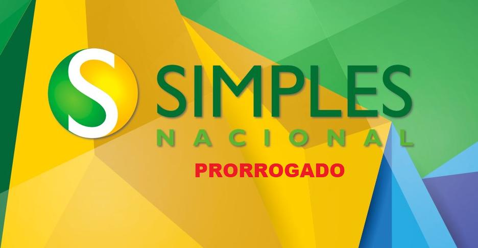 Prorrogação do simples nacional
