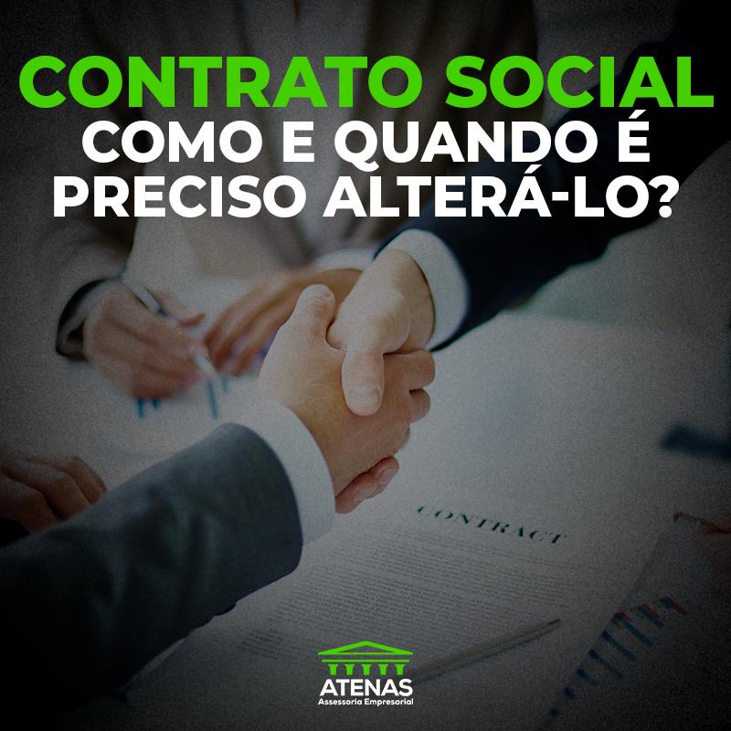 Contrato Social: como e quando é preciso alterá-lo?